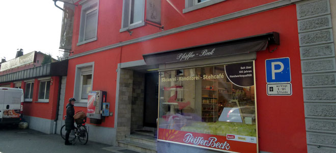 Bäckerei PfeifferBeck Filialen